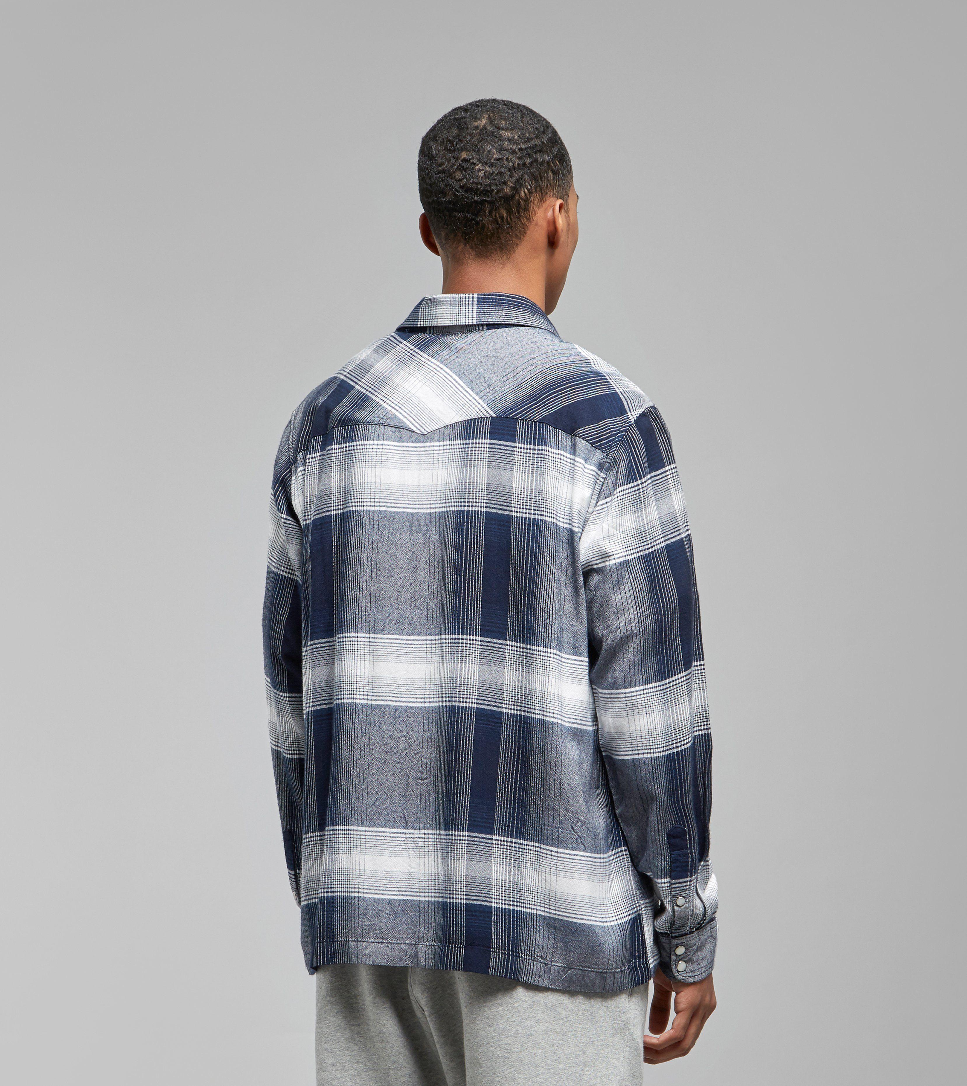 Stussy Shadow Plaid Western Shirt