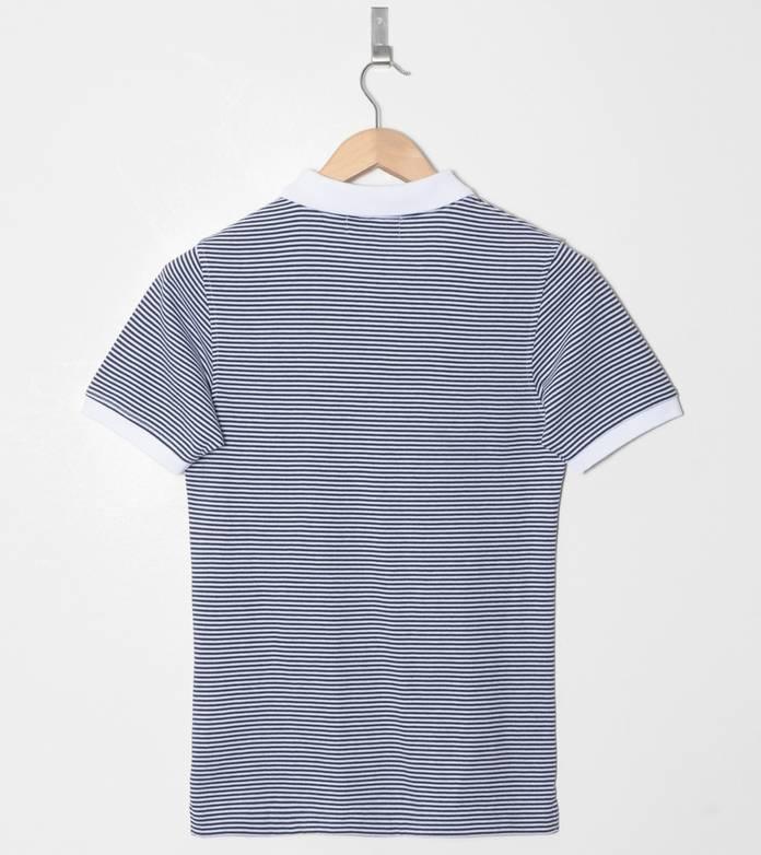 Lyle & Scott Striped Jersey Polo Shirt
