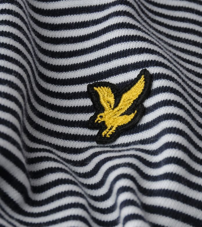 Lyle & Scott Striped Jersey Polo Shirt