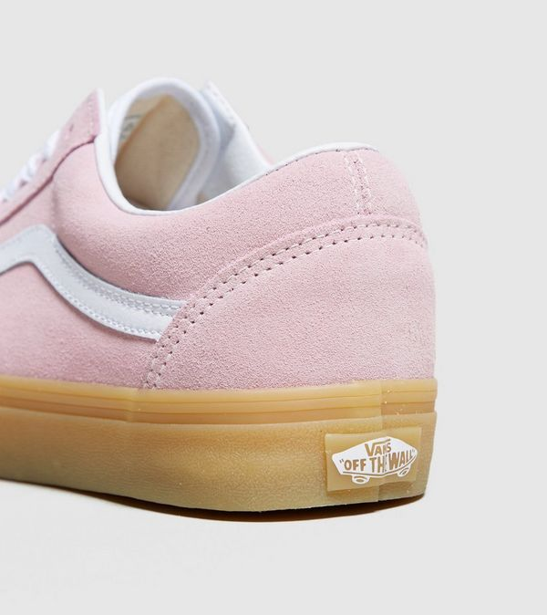 how to clean pink suede vans