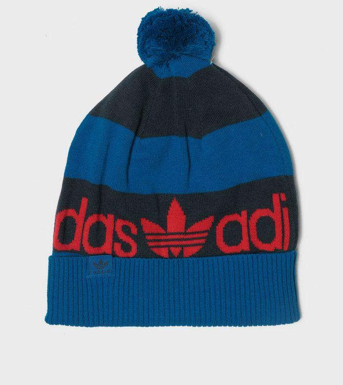 adidas Originals Bold Stripe Bobble Hat