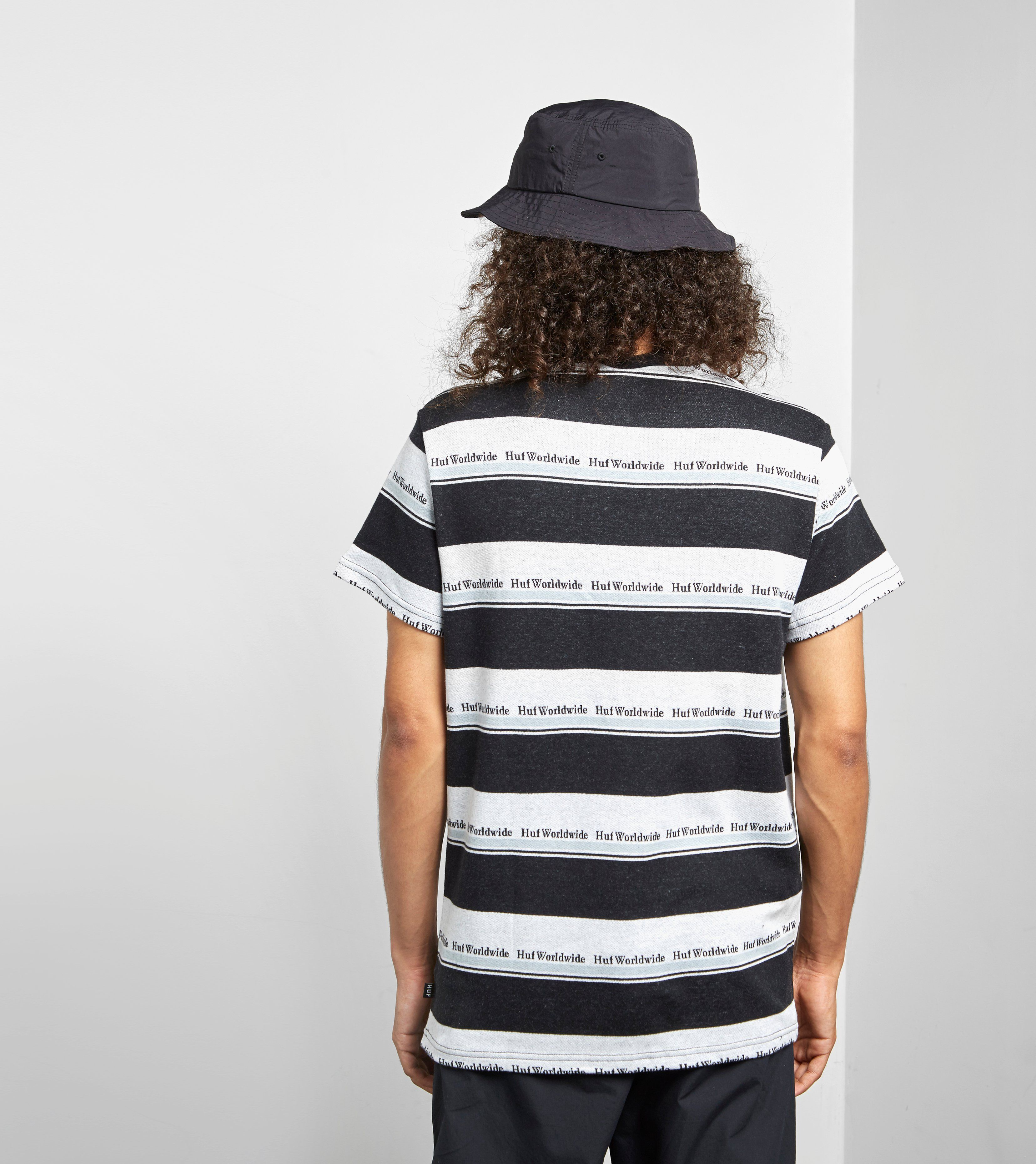 HUF T-Shirt Worldwide Stripe