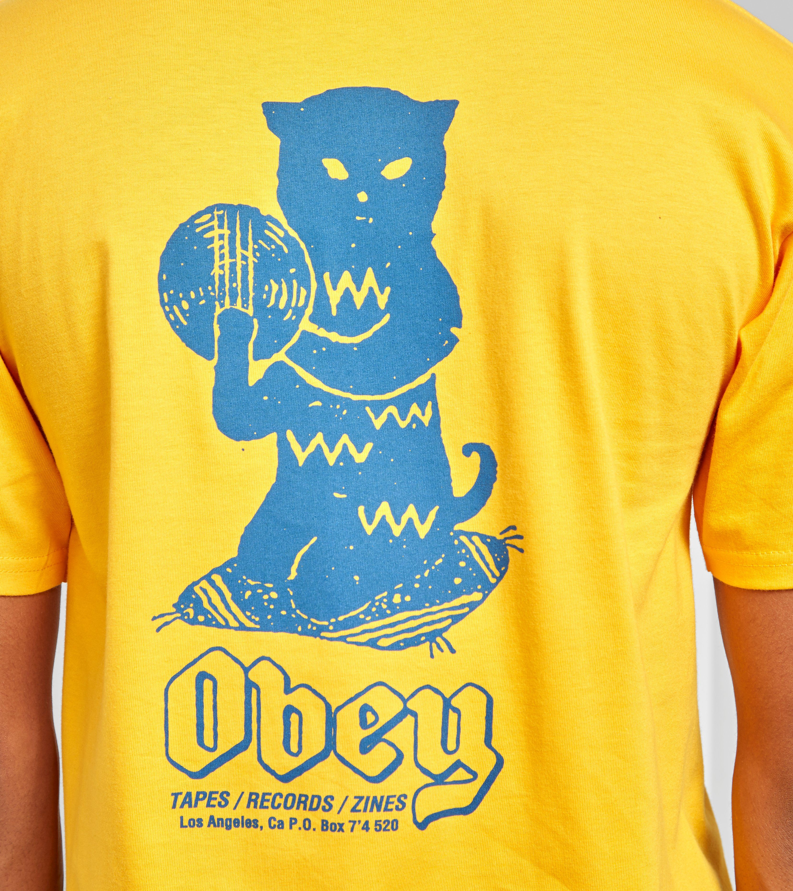 Obey Cut N Scratch T-Shirt