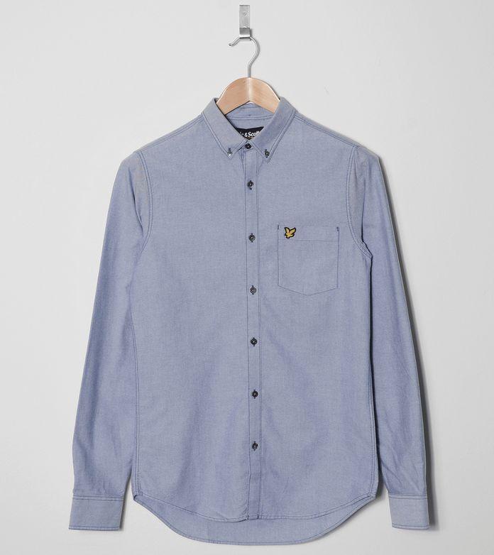 Lyle & Scott Long Sleeved Oxford Shirt