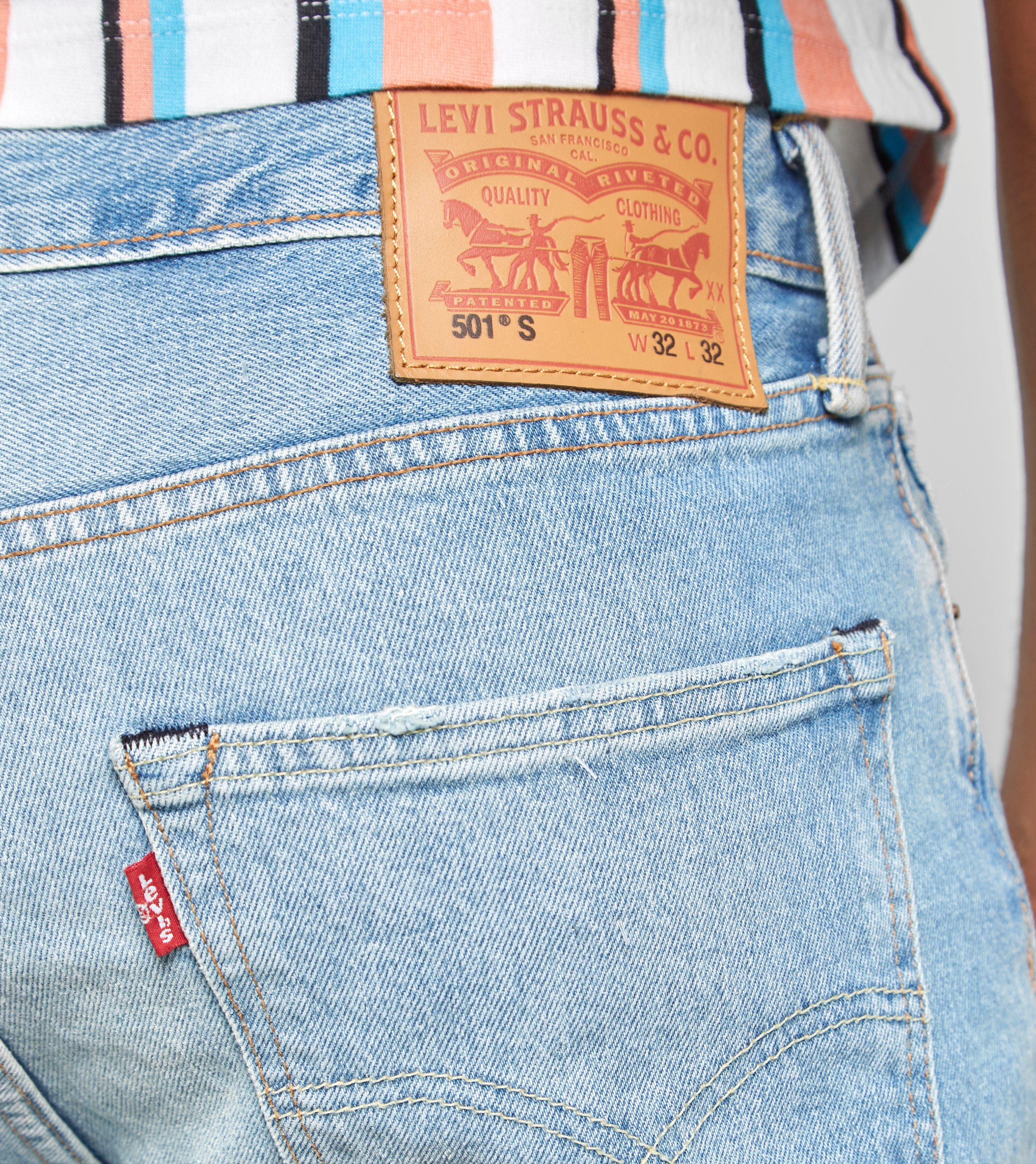 Levis 501 Skinny Jeans