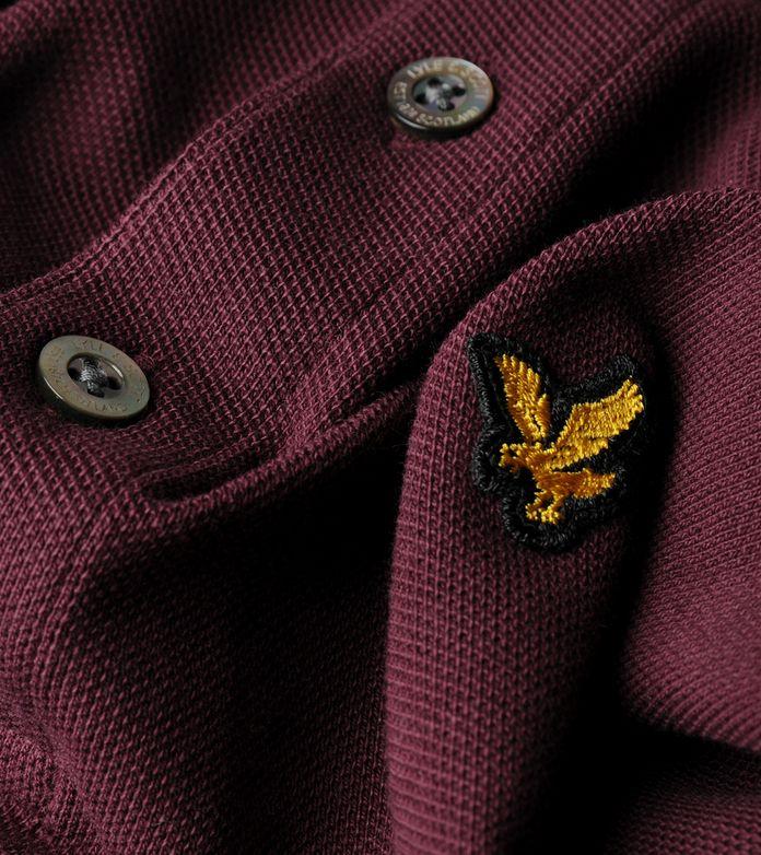 Lyle & Scott Long Sleeve Pique Polo - size? Exclusive