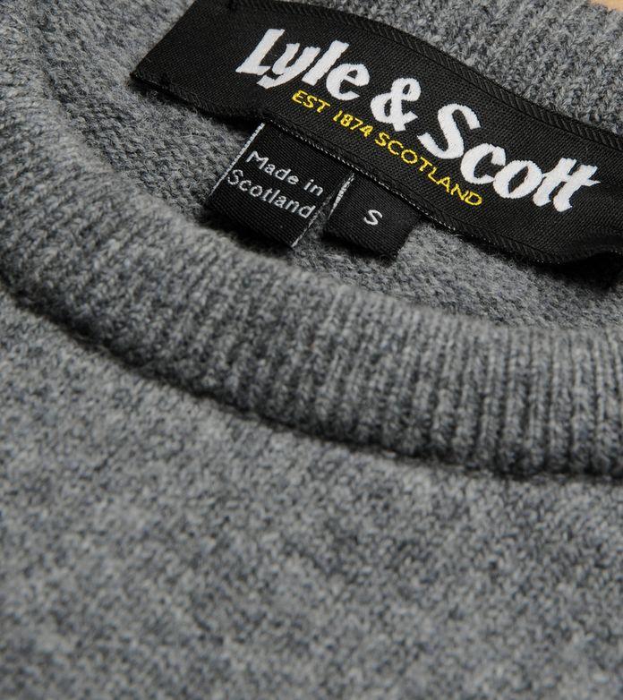 Lyle & Scott Crew Lambswool Knit