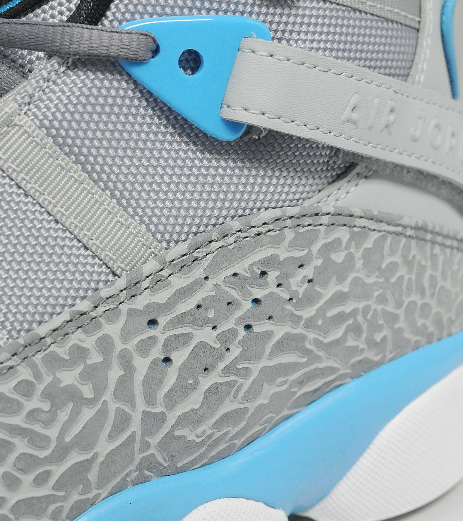Jordans 6 rings powder blue