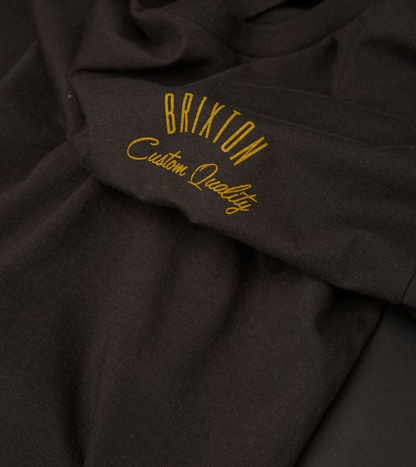 Brixton Reno T Shirt Size