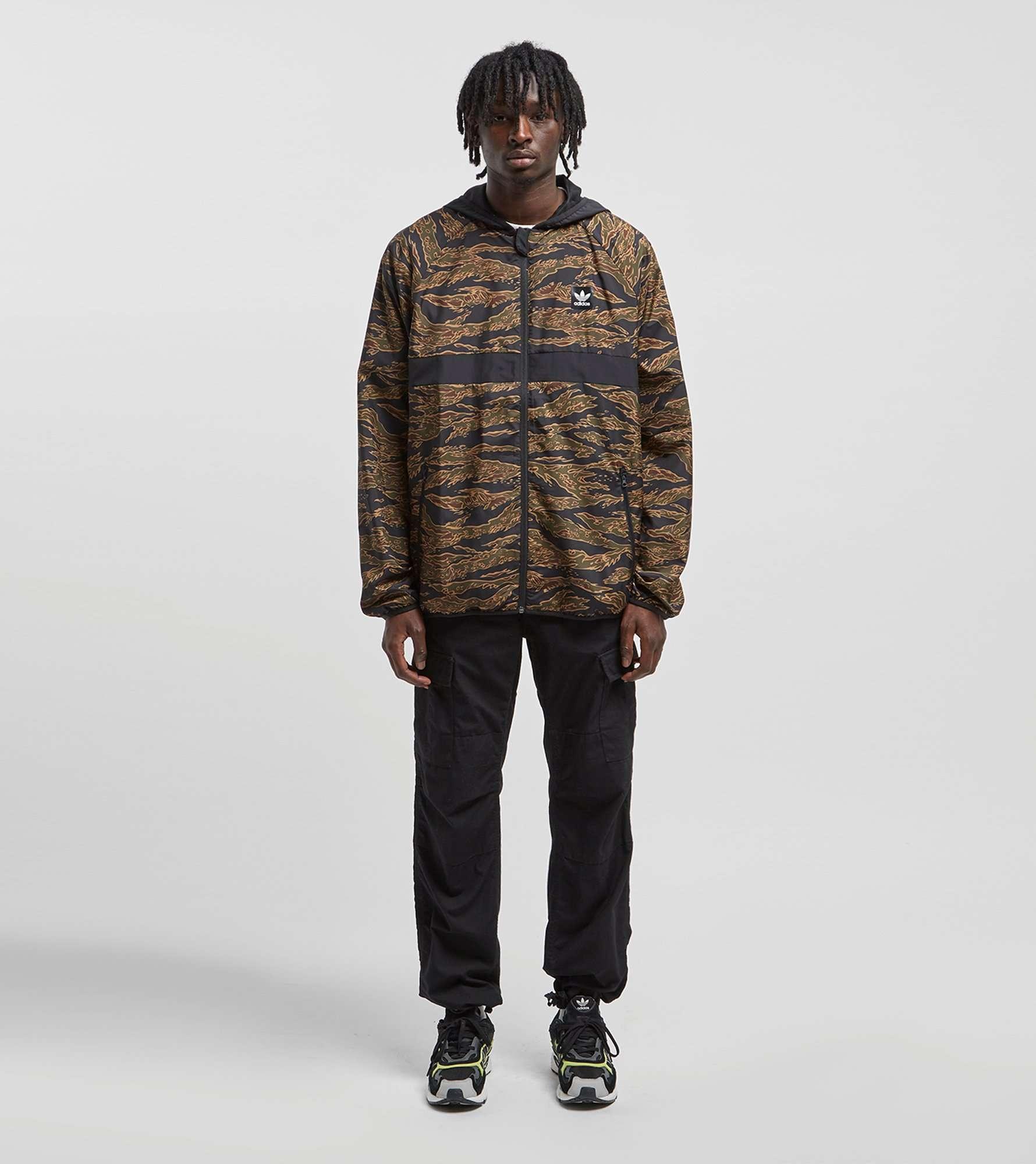 adidas Originals Tiger Camouflage Windbreaker Jacket