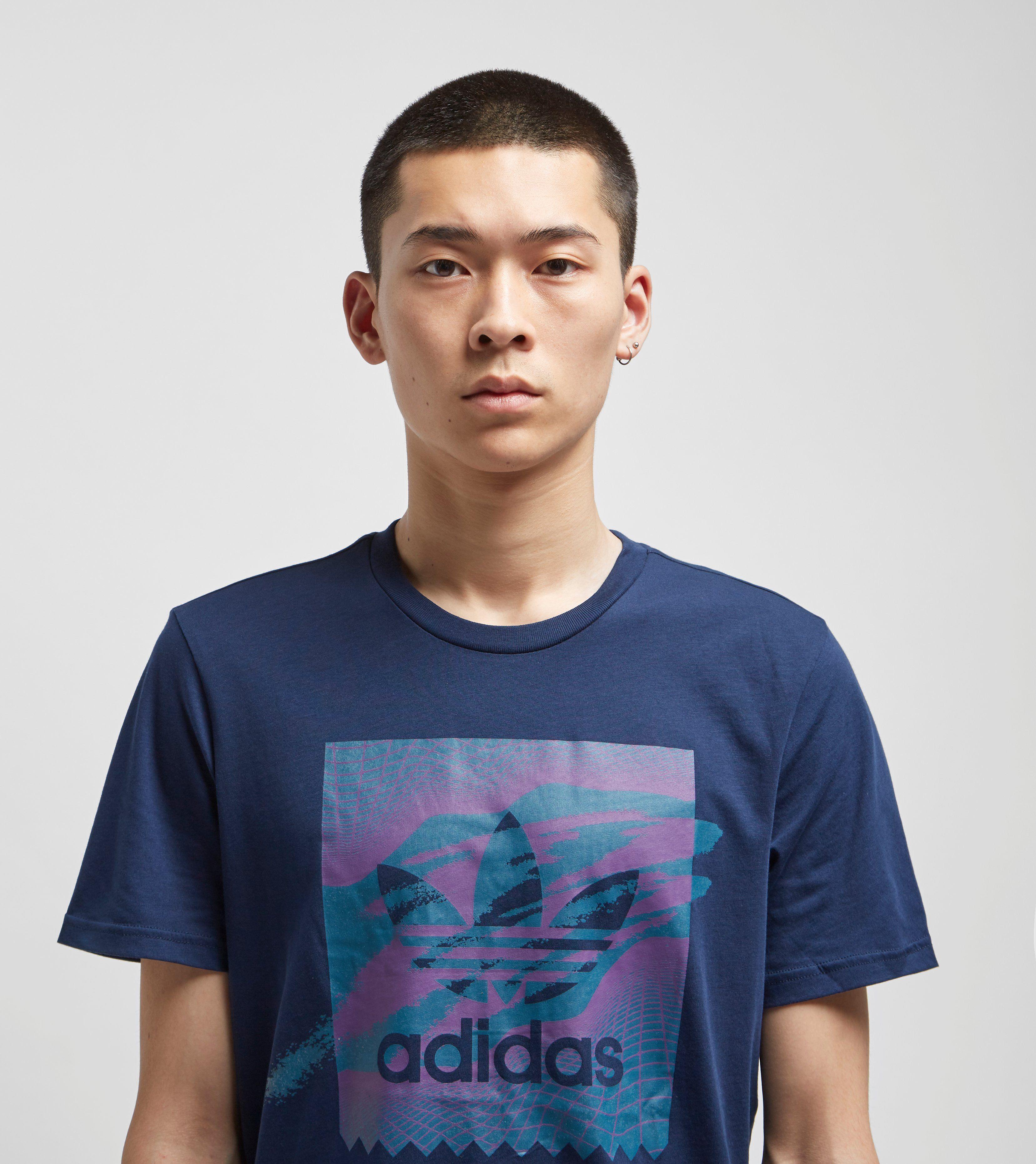 adidas Originals 90s Tennis Logo Short Sleeve T-Shirt