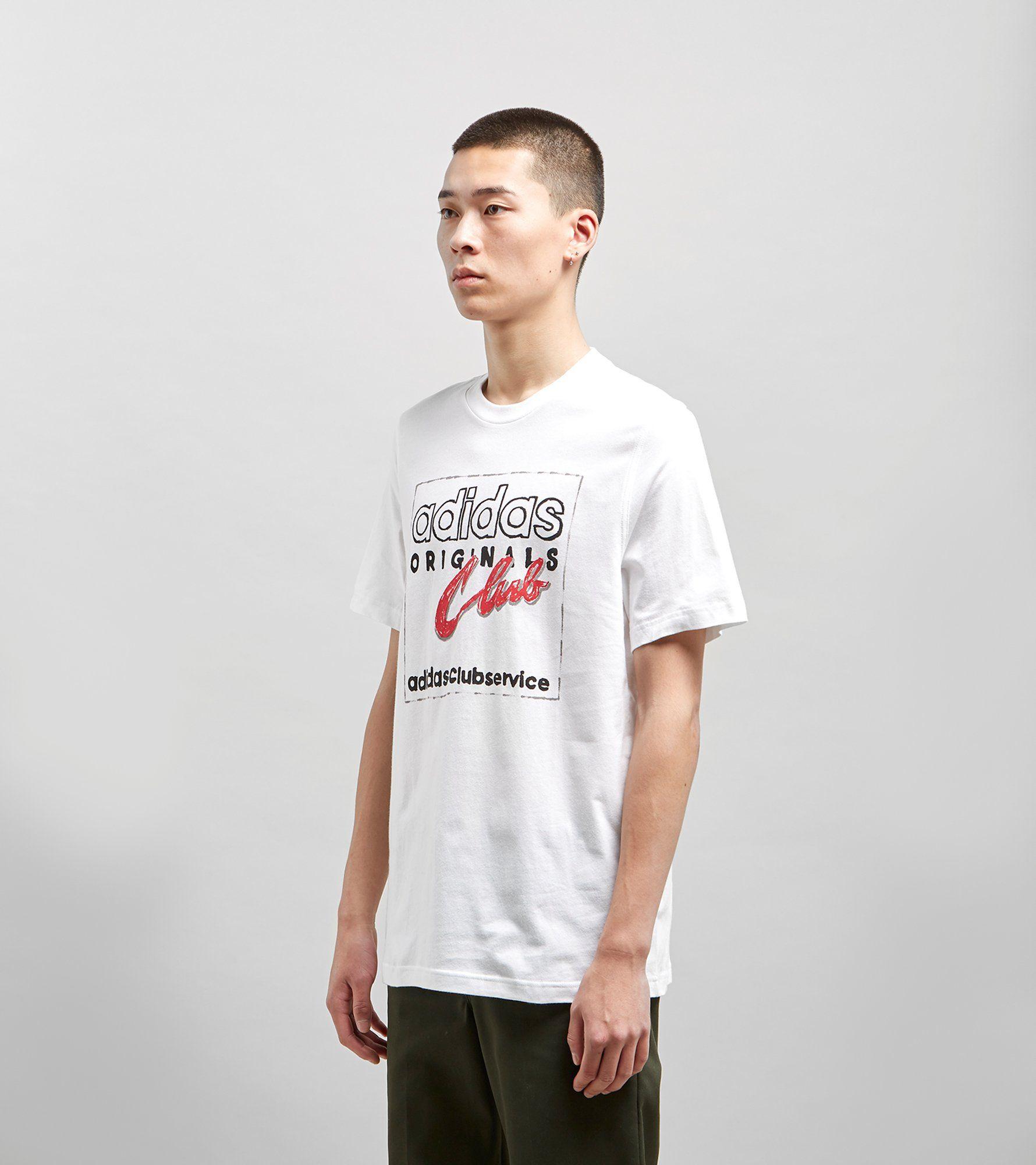 adidas Originals T-Shirt Hand Drawn