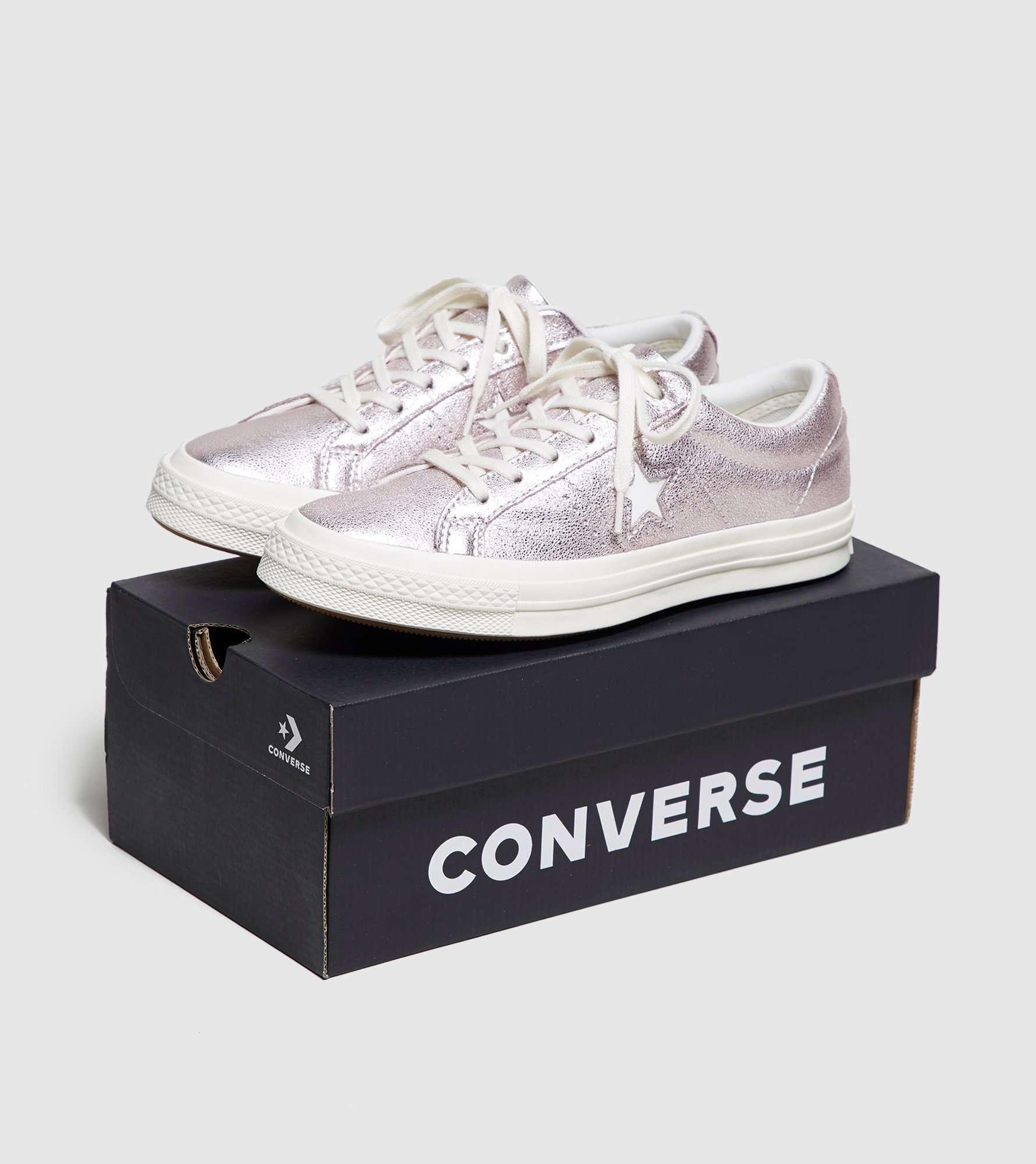 Converse One Star Metallic Women's