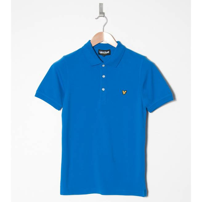 Lyle & Scott Cotton Pique Polo Shirt