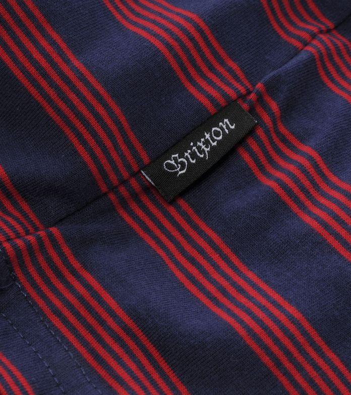 Brixton Linus Thin Stripe T-Shirt