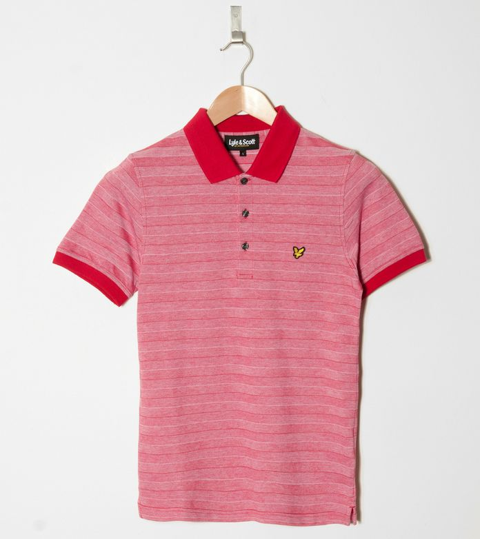 Lyle & Scott Tonal Oxford Stripe Polo