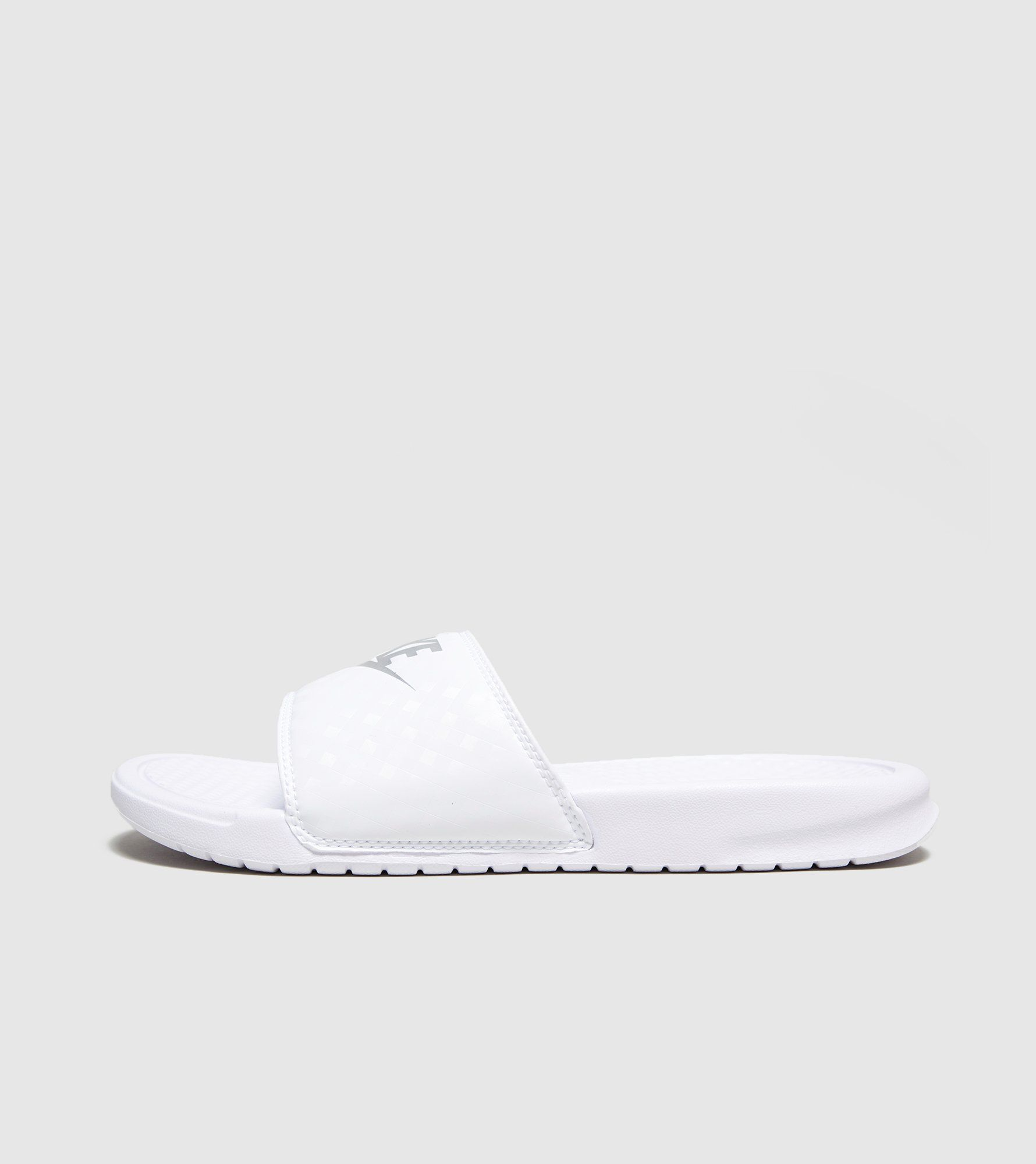 6411cafe085 Nike Benassi Just Do It Slides Women s