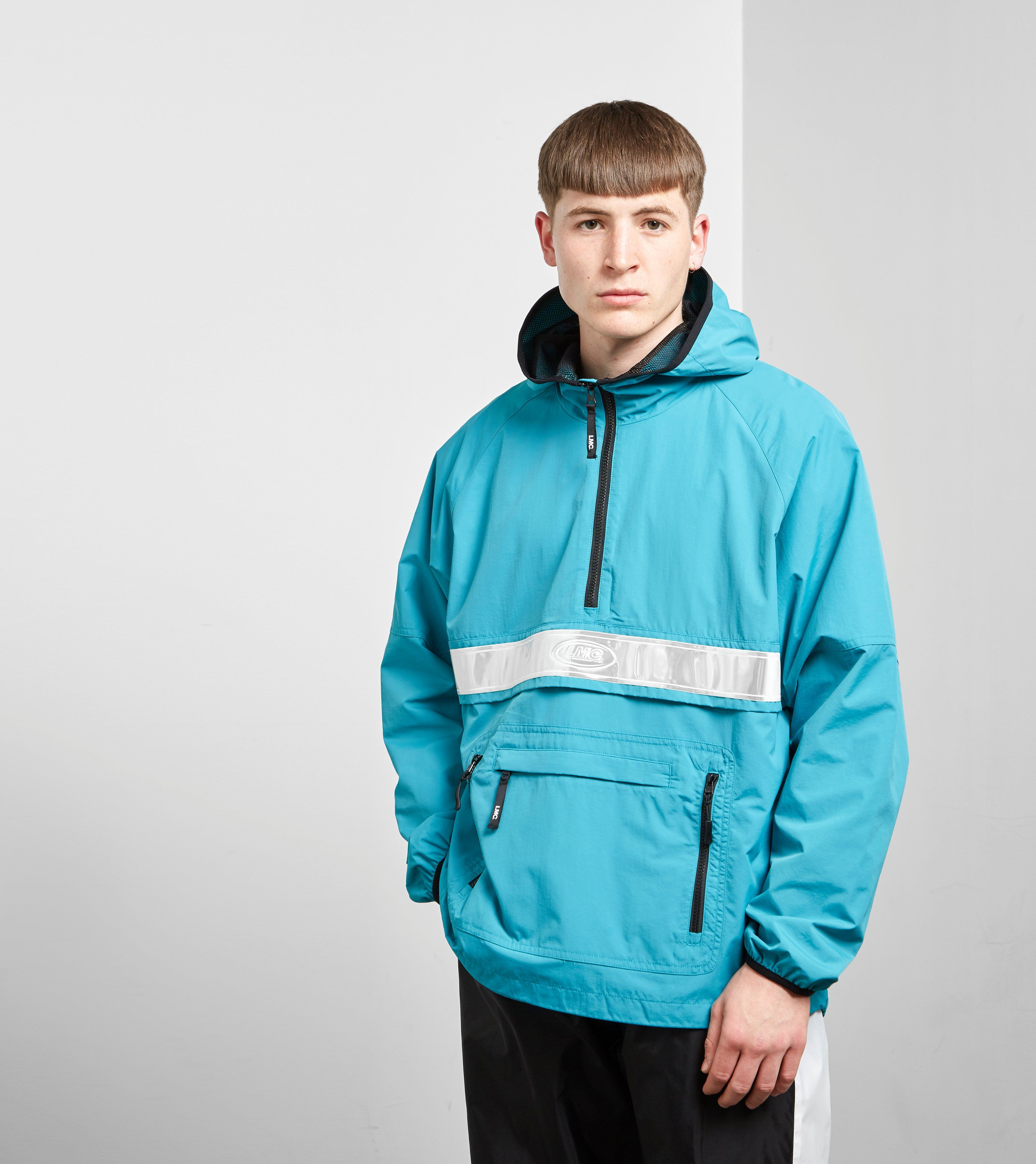 Lost Management Cities Reflective Anorak Jacket