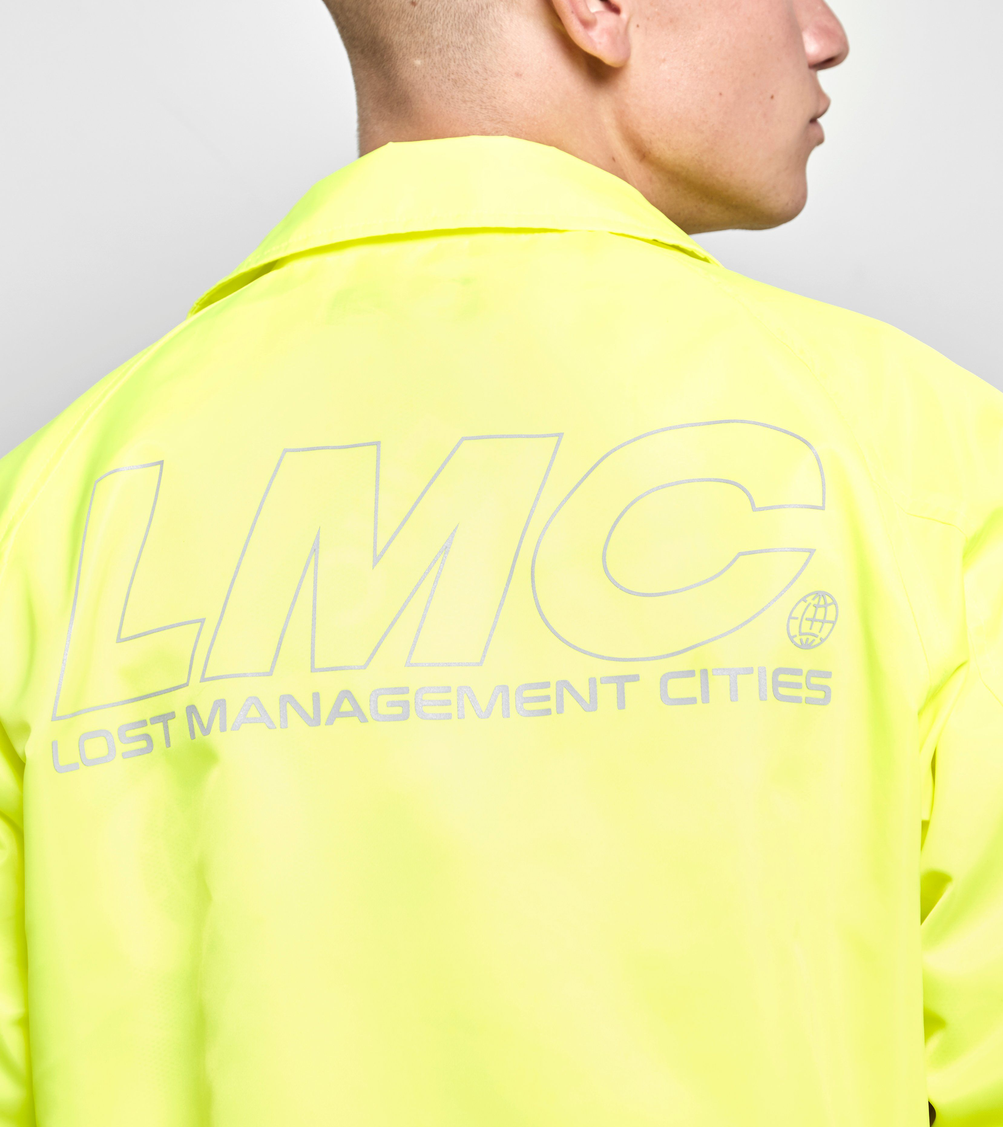 Lost Management Cities Coach Jacket