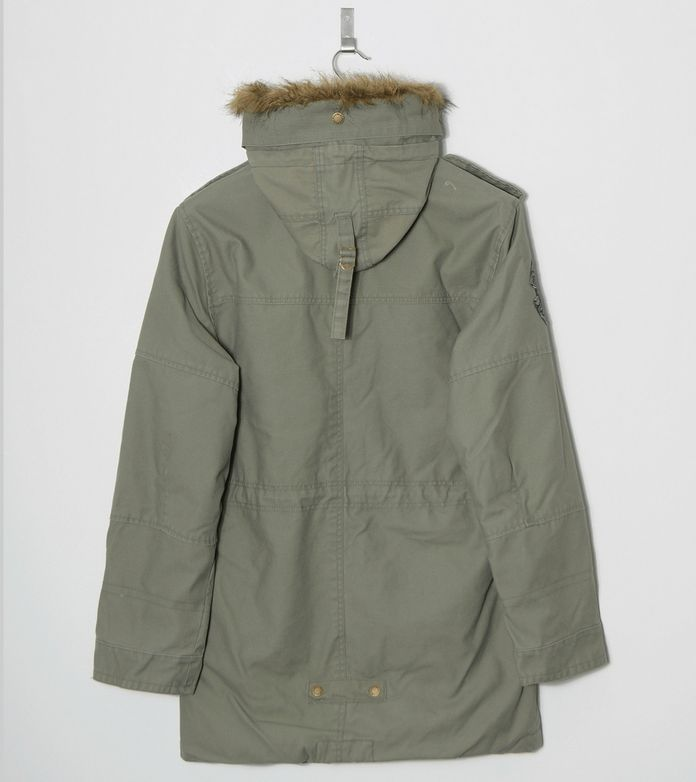 Alpha Industries Fishtail Hooded Jacket
