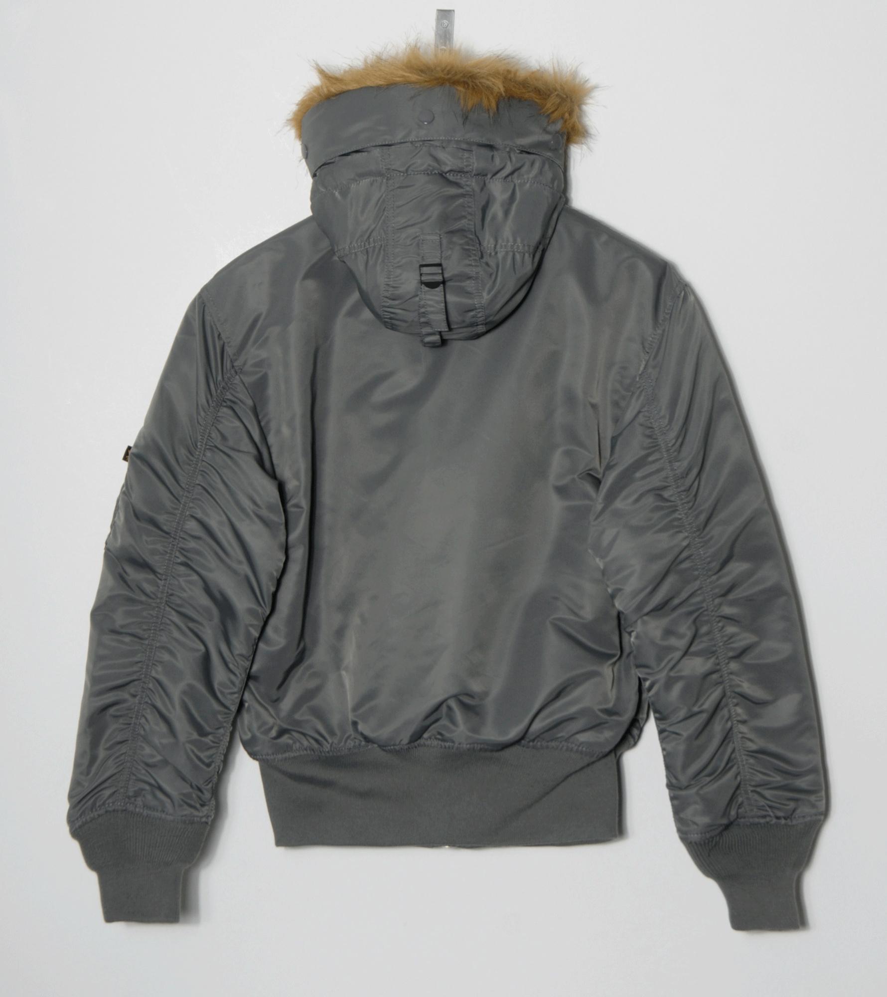 Alpha jacke 45p hooded