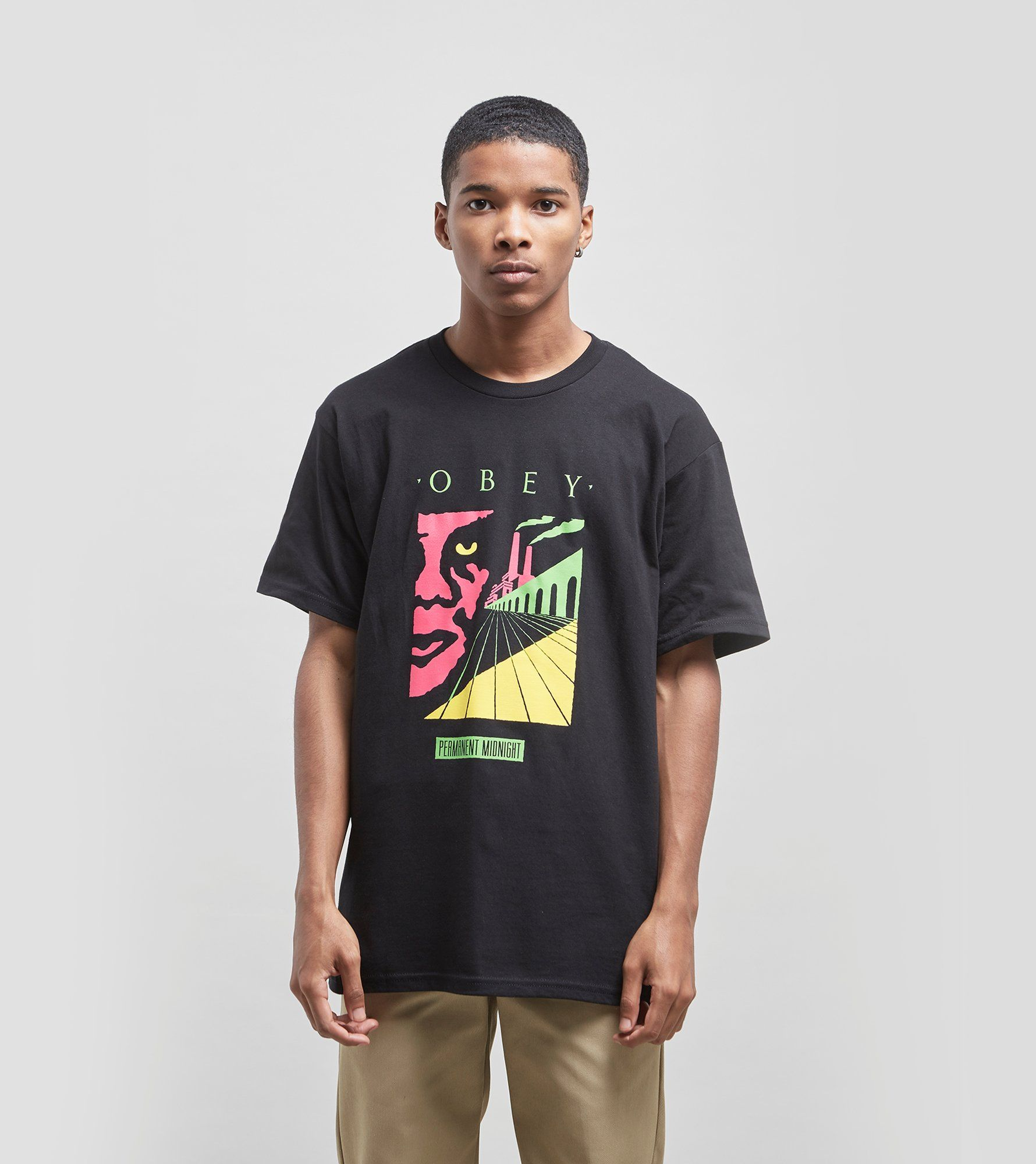Obey Permanent Midnight T Shirt by Obey