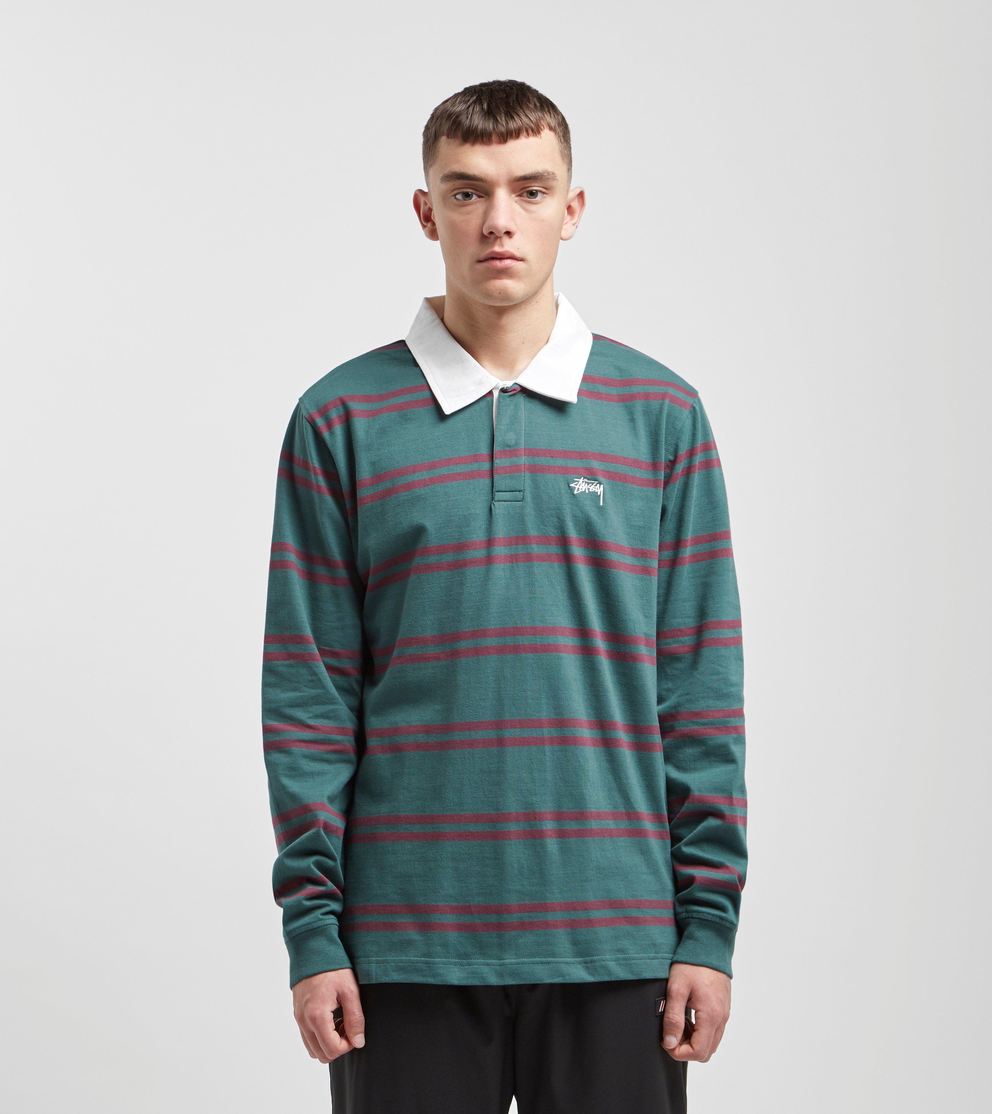 Stussy Desmond Stripe Rugby Shirt