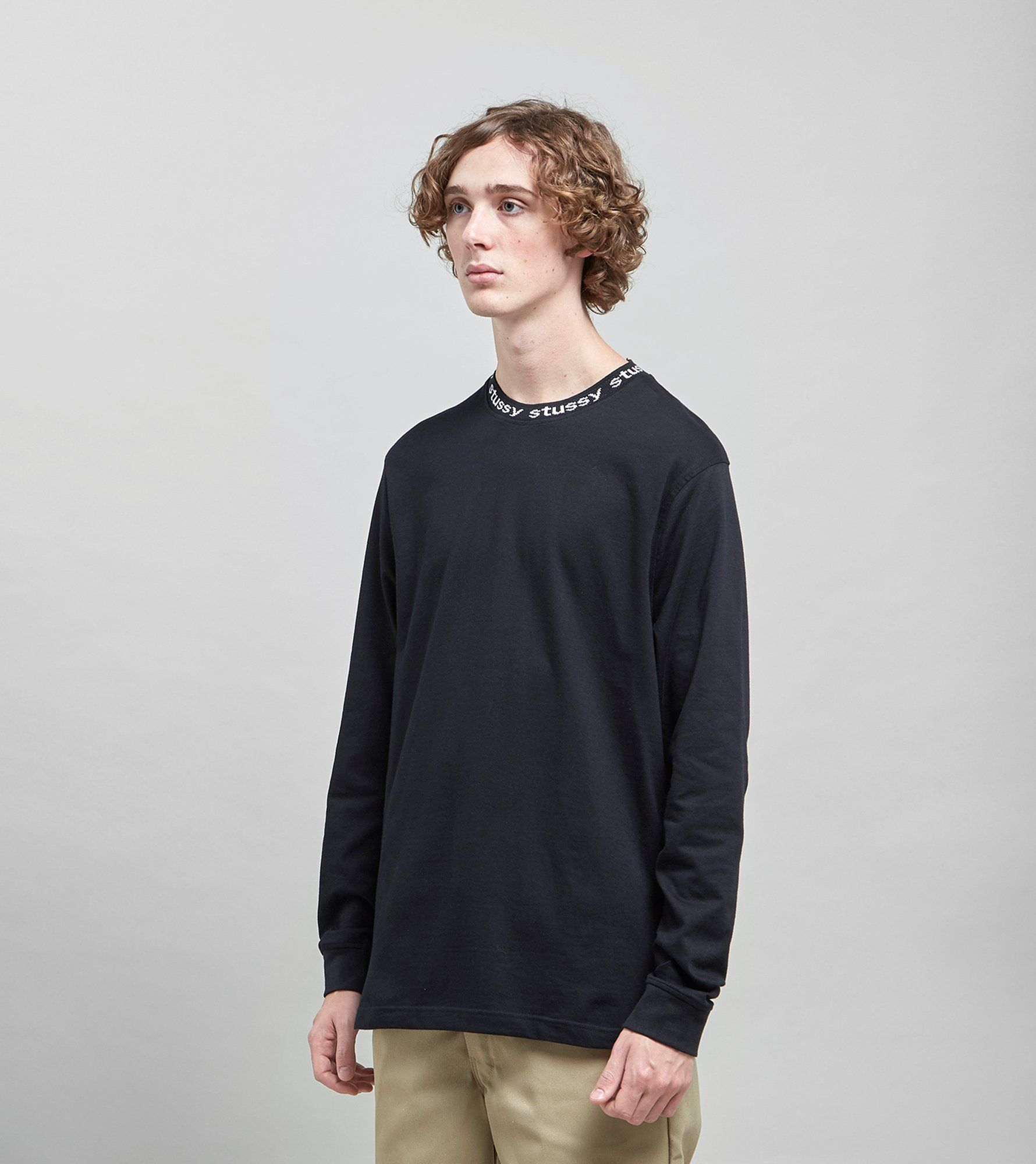 Stussy Owen Long Sleeved Crew Sweatshirt