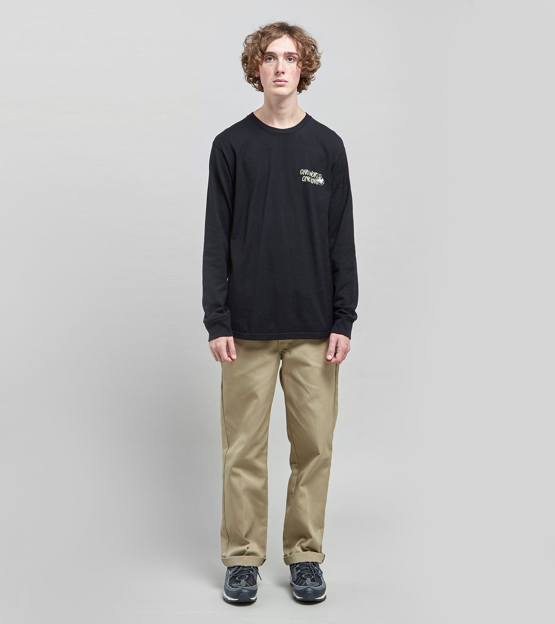 Stussy One World Long Sleeved T-Shirt