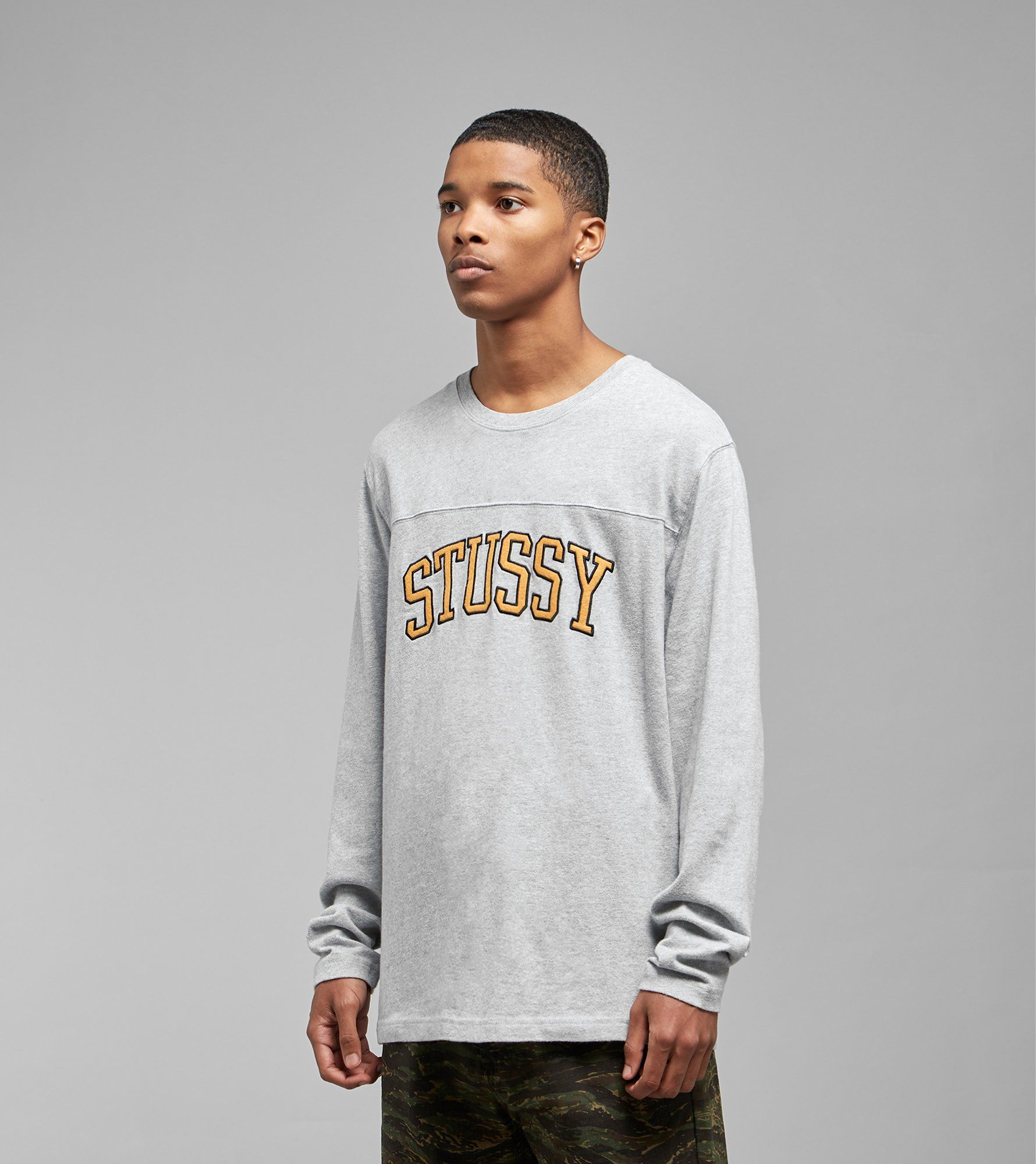Stussy Kent Football Long Sleeved T-Shirt