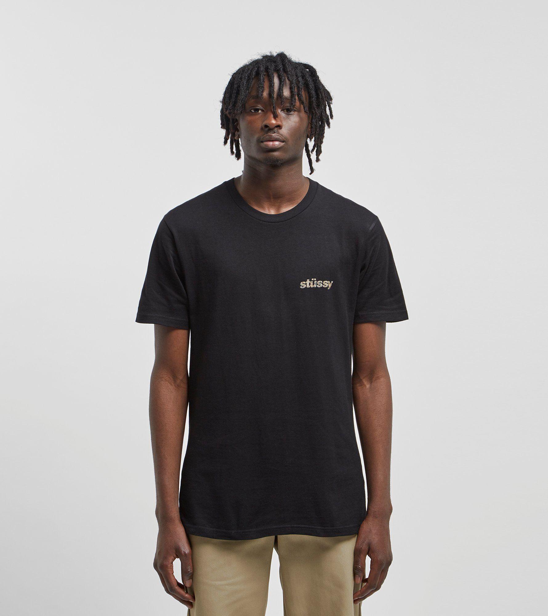 Stussy Camo Italic T-Shirt