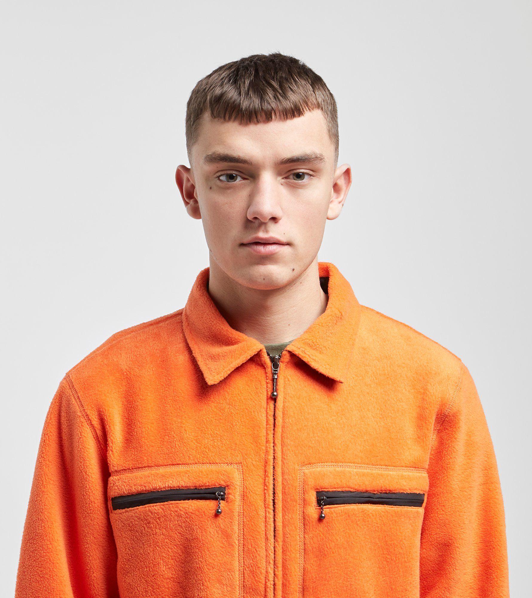 Stussy Polar Full Zip Fleece Jacket
