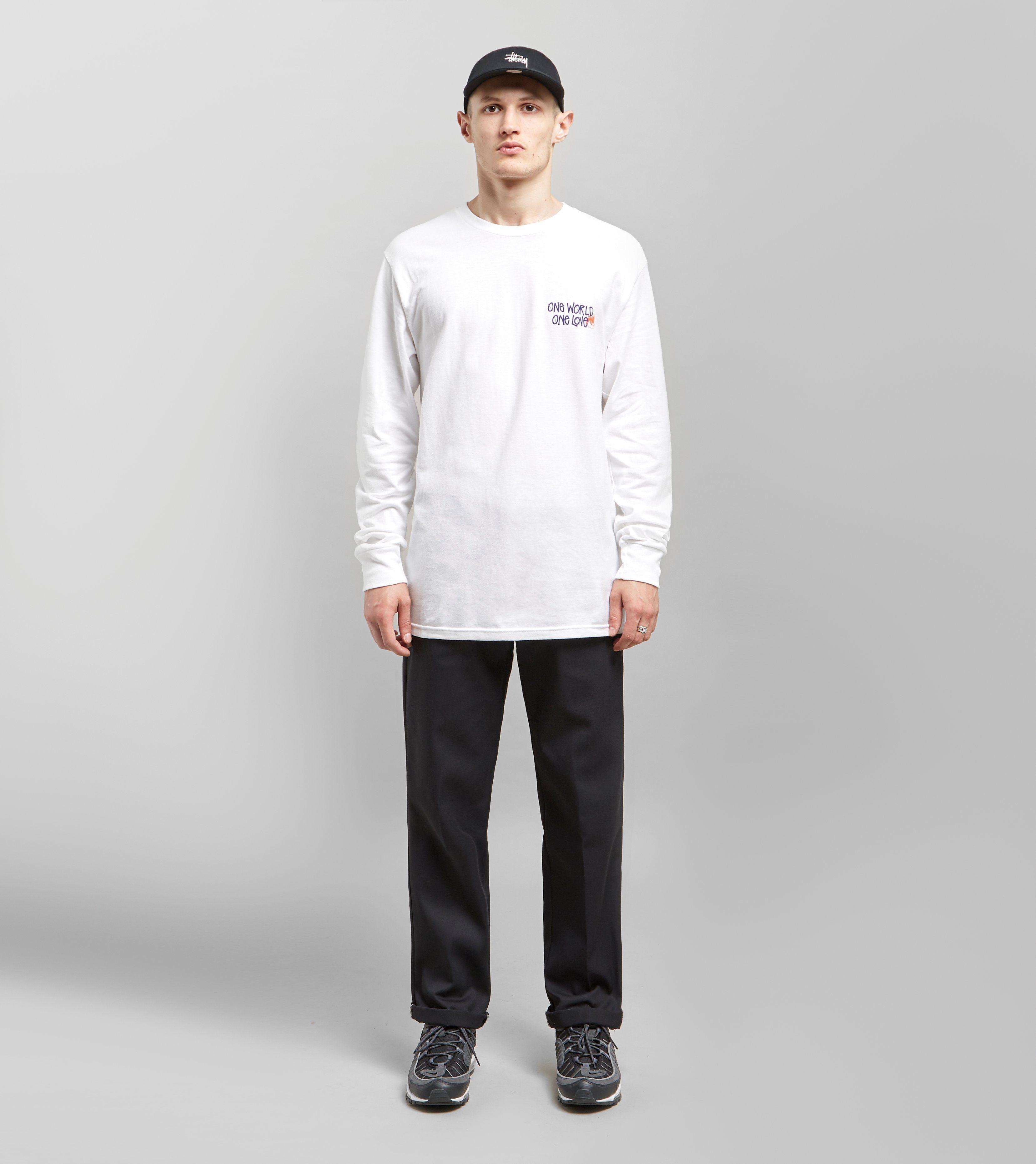 Stussy One World Long Sleeved T-Shirt