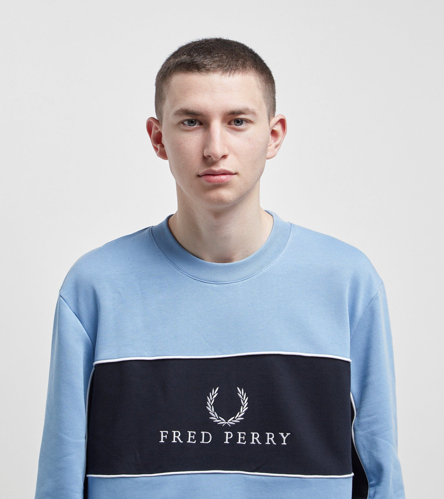 Fred Perry Crew Sweatshirt - size? Exclusive
