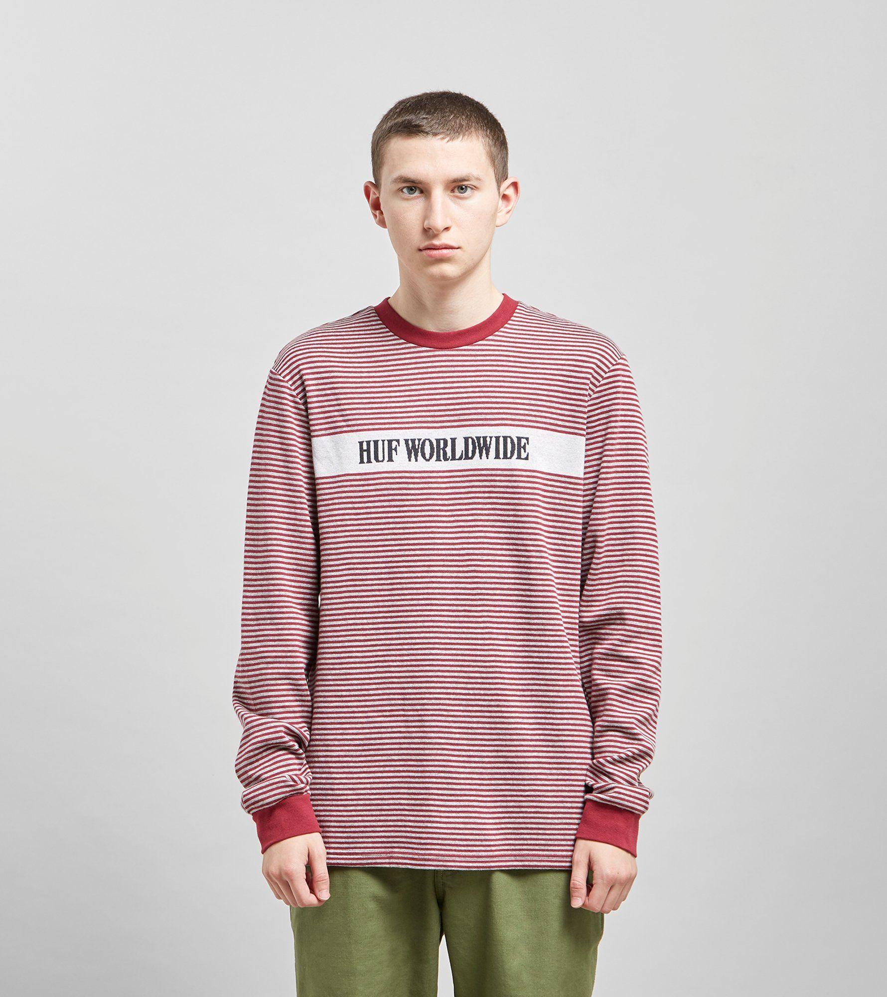 HUF Latitude Long Sleeved Knit T-Shirt