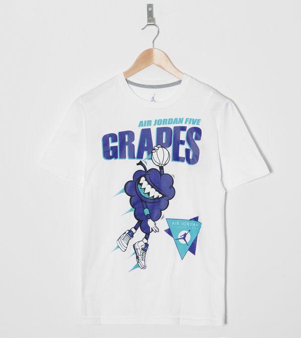 69ad3c32712f65 Jordan 5 Grapes T-Shirt