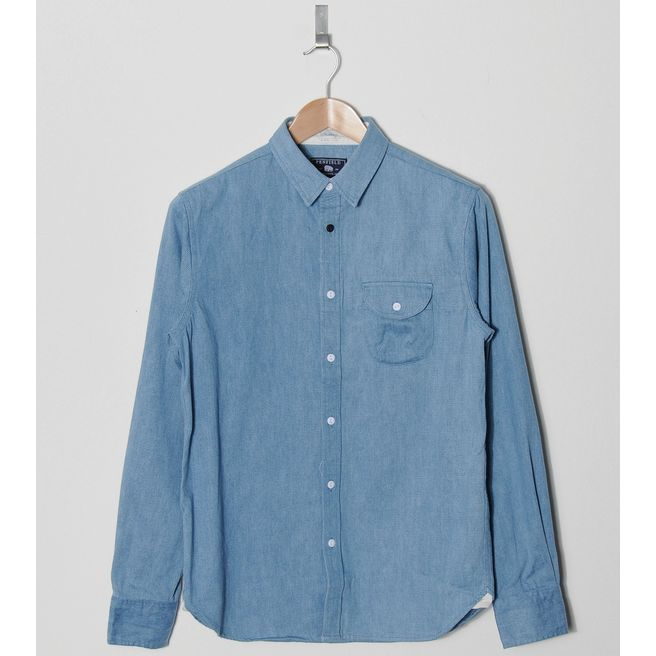 Penfield Colburn Denim Long Sleeve Shirt