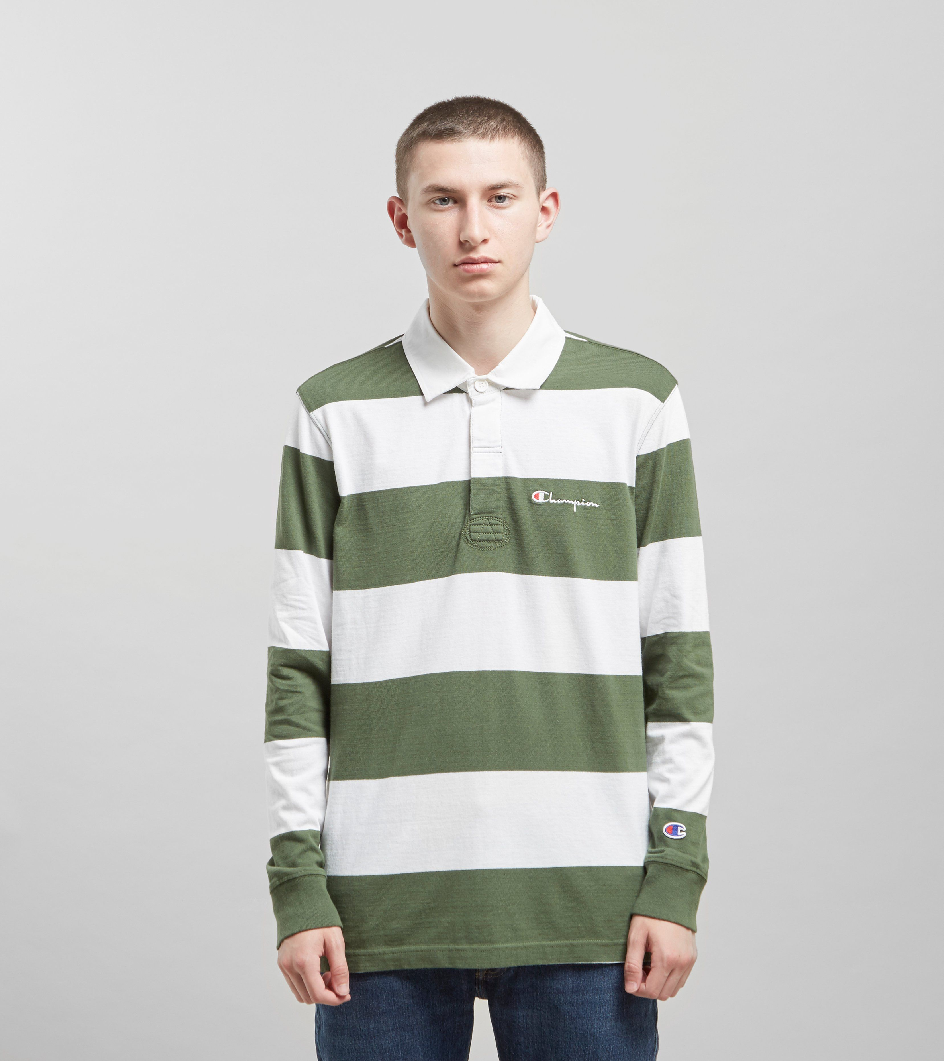 Champion Long Sleeved Rugby Shirt