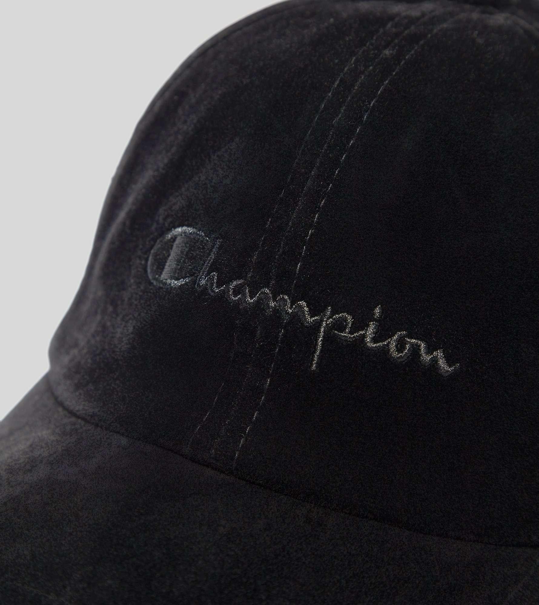Champion Tonal Velour Script Logo Cap