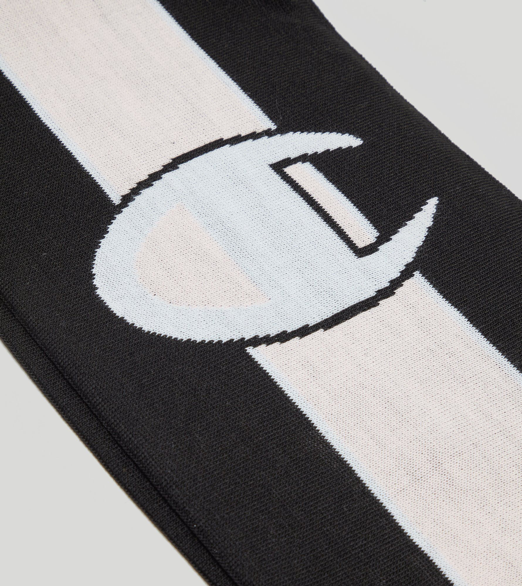 Champion Logo Stripe Knitted Ski Scarf