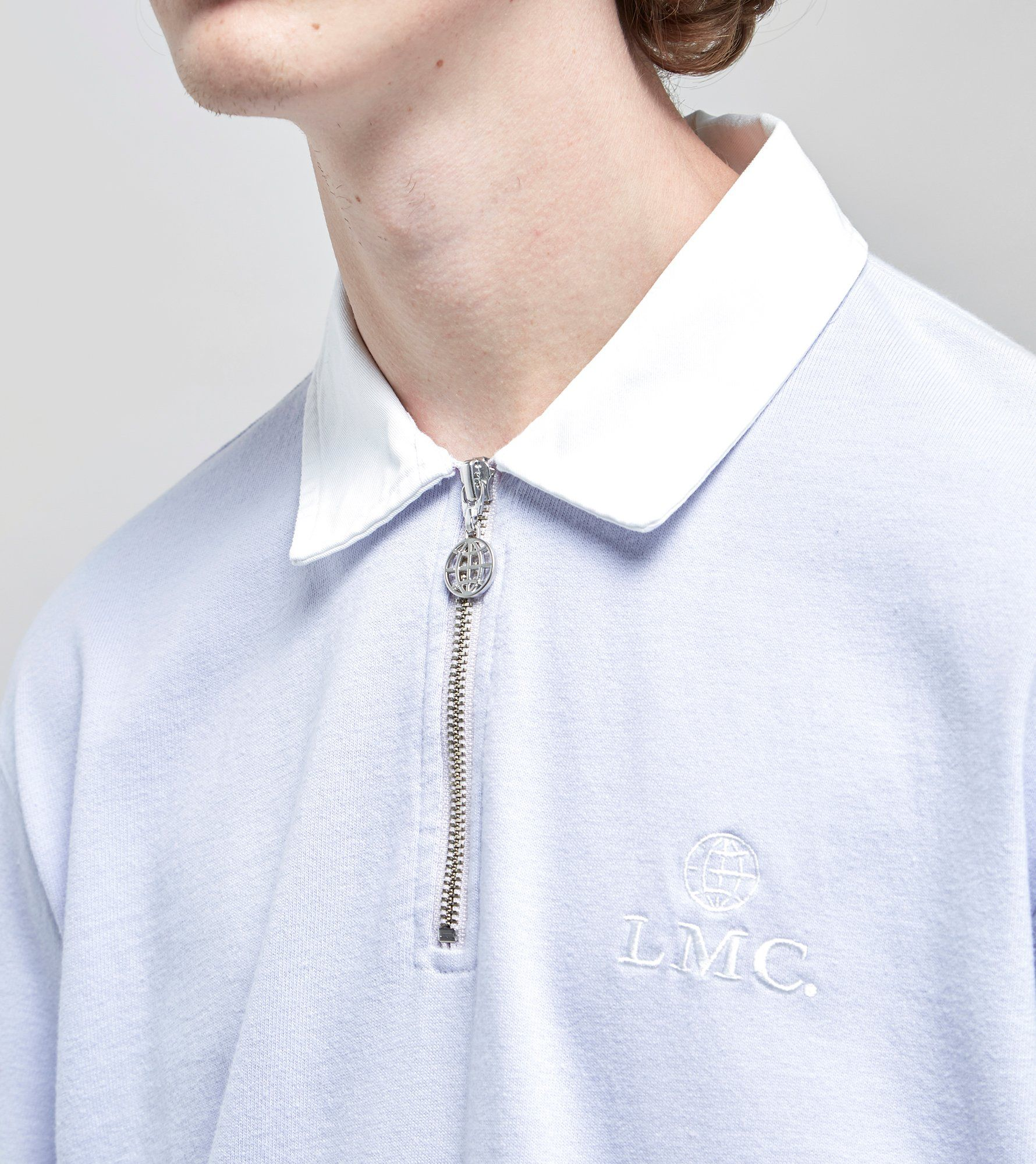 Lost Management Cities Zip Rugby Shirt