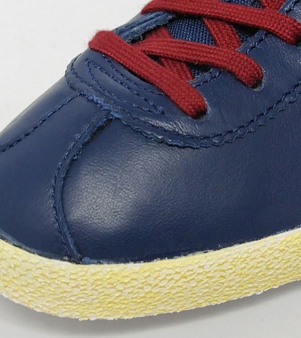 adidas originals gazelle og leather navy maroon
