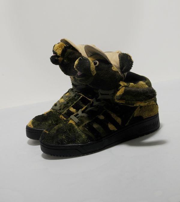 adidas Originals x ObyO Jeremy Scott Camo Bear  1fac084d2651