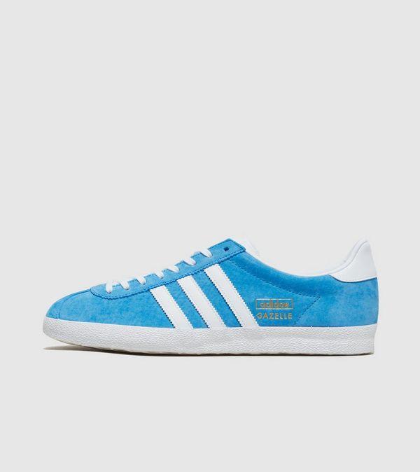 adidas originals men's gazelle og trainers blue
