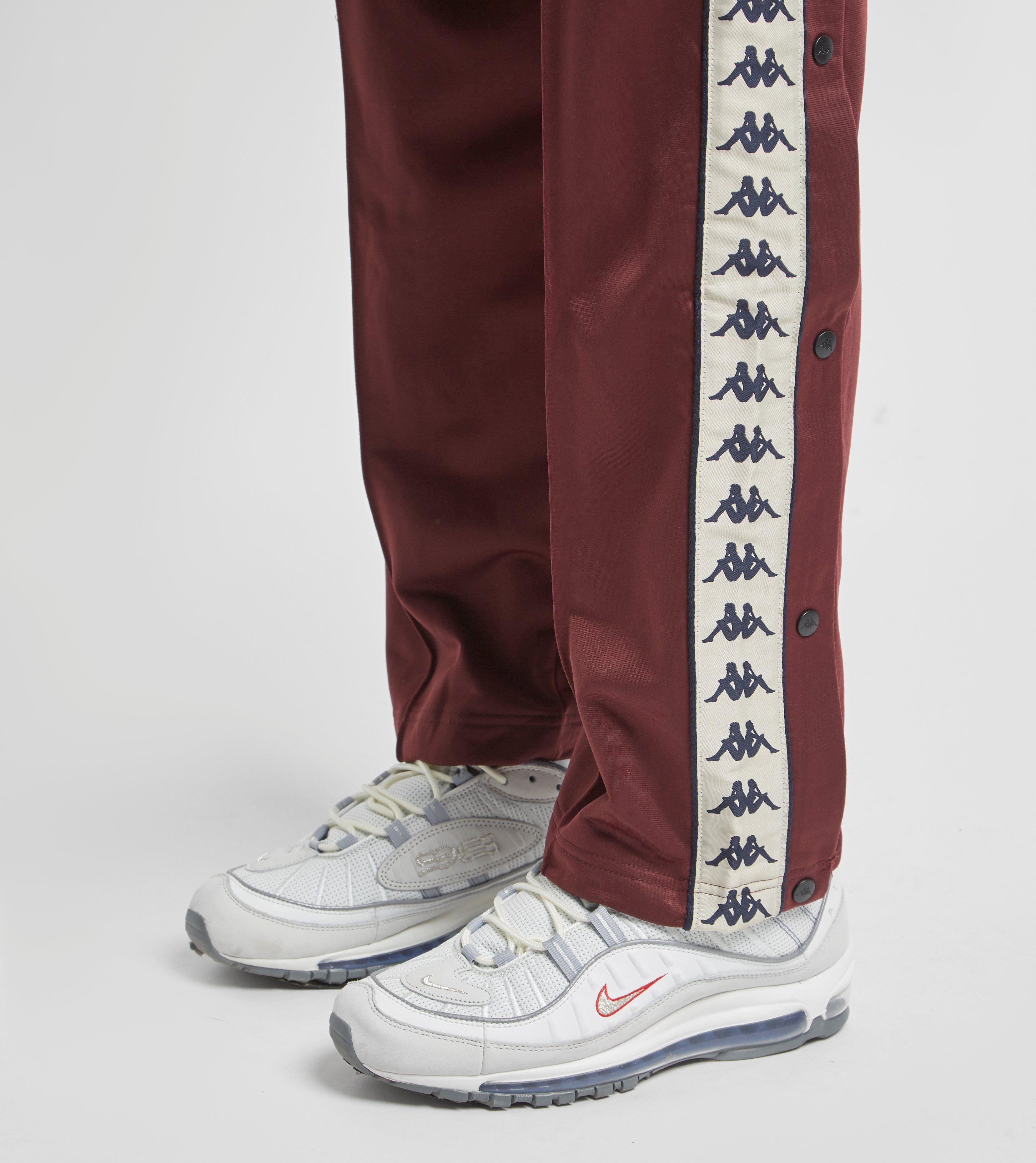 Kappa Astoria Snap Track Pants