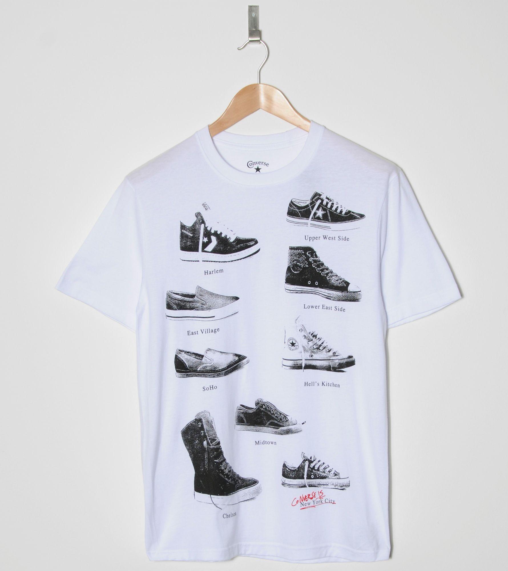 8cce0541f26d34 Converse Shoes T-Shirt