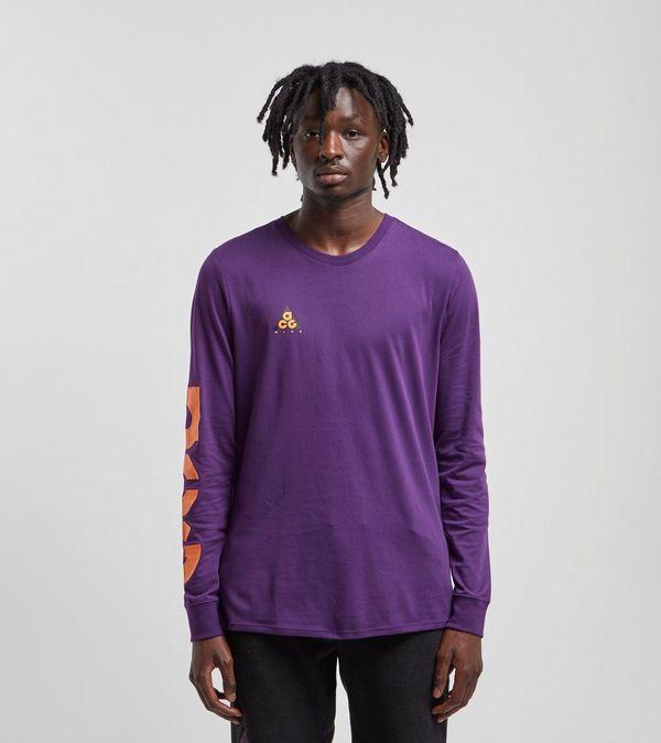 T Longues Nike Shirt À Manches Size Acg dwRC8Rq