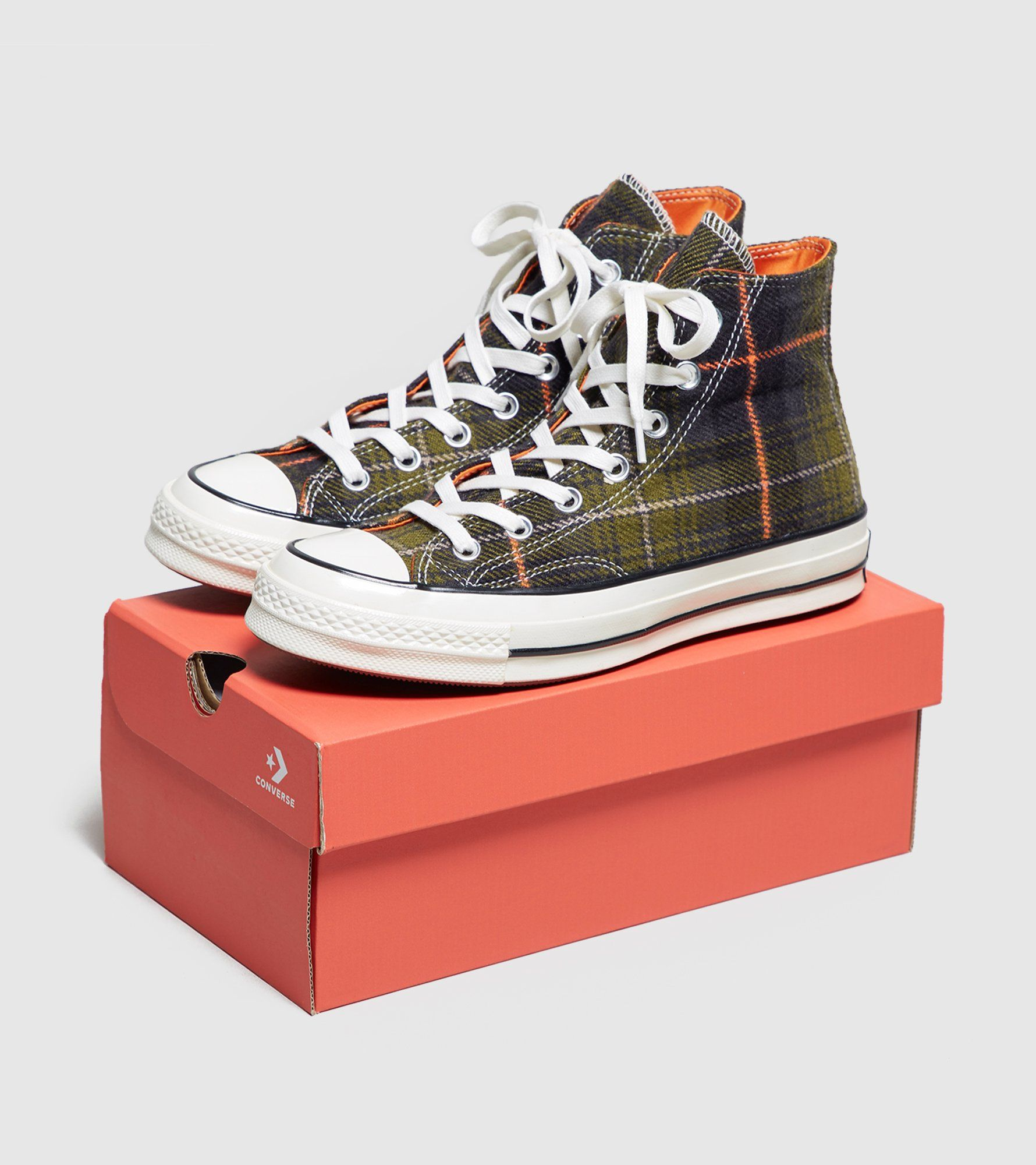 Converse Chuck Taylor All Star 70's High Plaid Dam