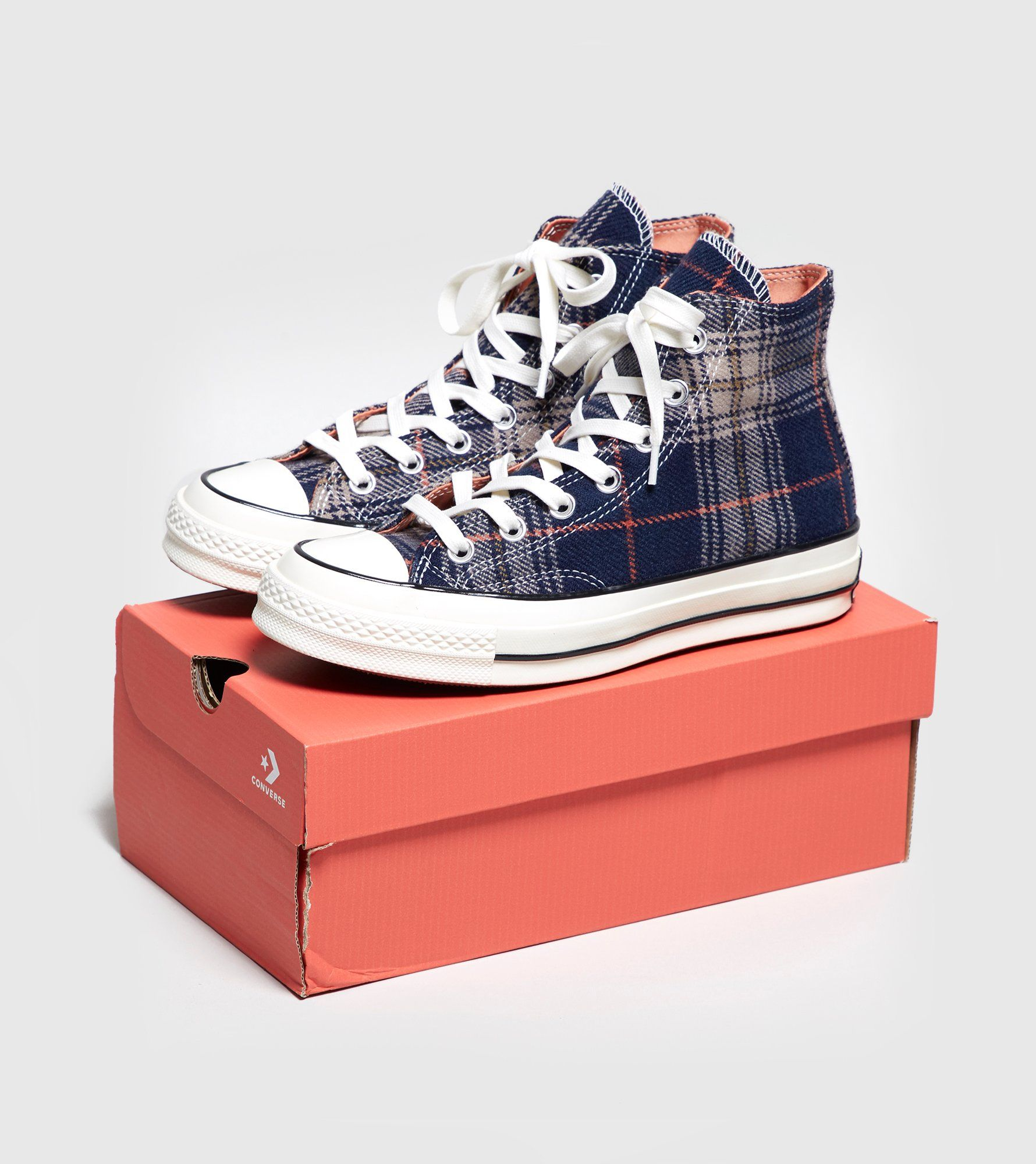 Converse Chuck Taylor All Star 70's High Plaid Dames