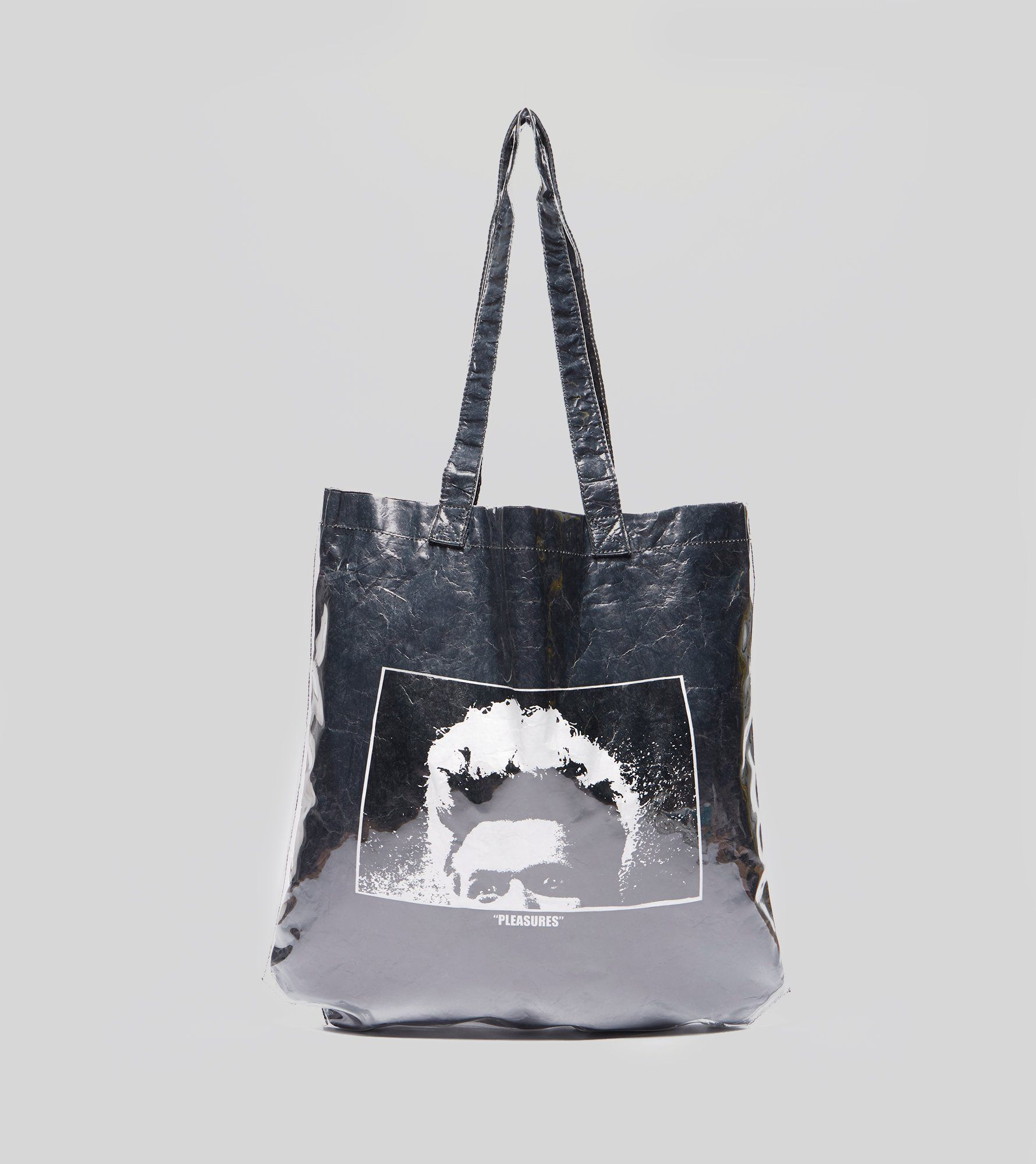 PLEASURES Dazed Plastic Tote Bag